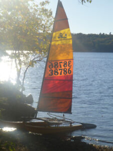 Hobie Cat 14 foot with full trailer
