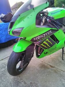 2007 KAWASAKI ZX6R TWO BROTHERS EXHAUST MONSTER ENERGY Windsor Region Ontario image 8