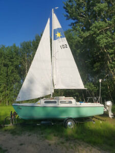 Sirius 21 swing keel sailboat (at Grimshaw AB)