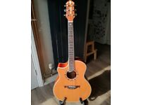 Crafter GAE-15L (Left Handed) Acoustic Guitar in Excellent Condition
