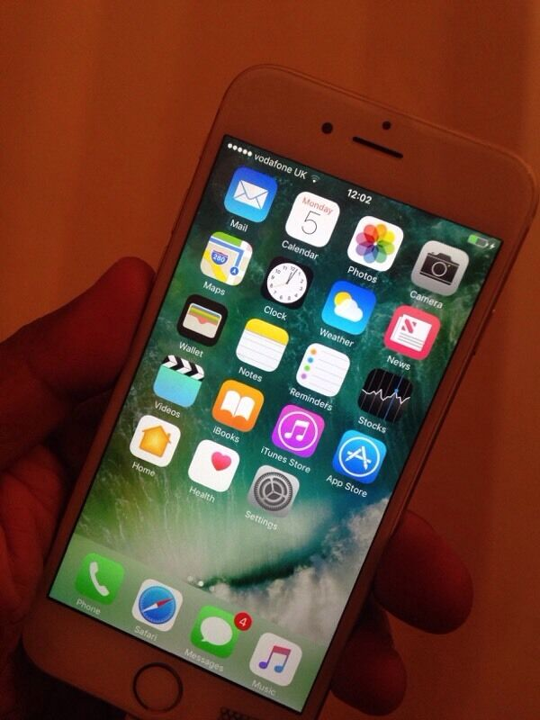 iPhone 6 on Vodafone 64