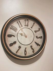 Round clock from Alana interiors