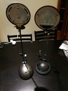 Two free lamps