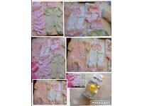 Brand new baby girl clothes 10 items £5