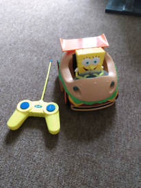 SpongeBob Square pants Radio controller car