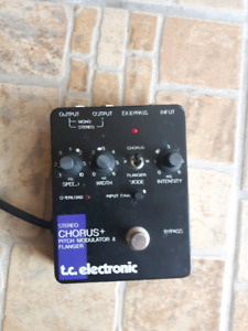Tc Electronic Stereo Chorus/Flanger + Pitch modulator