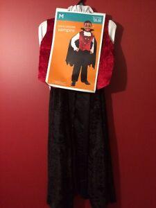 Boy's Size Medium (6-8) Vampire Costume - Brand new!