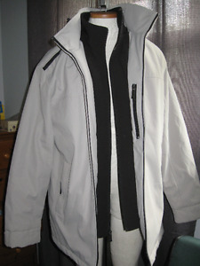 Mens weatherproof ultra tech coat size medium