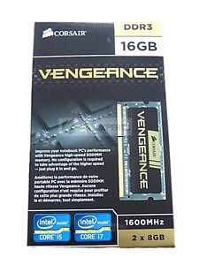 CORSAIR CMSX16GX3M2A1600C10 Vengeance Performance 16GB (2 x 8GB) 204-Pin DDR3