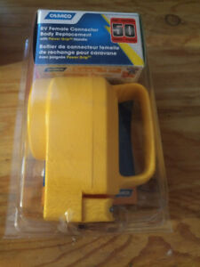 50 amp trailer extension cord end
