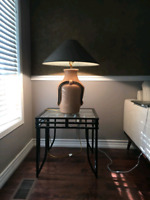 Table and lamp for $40 each set.