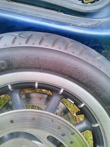 HARLEY DAVIDSON ROAD KING ULTRA WHEELS WITH TIRES AND ROTORS Windsor Region Ontario image 4
