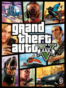 GTA V 10/10 condition for ps4. Only 20$