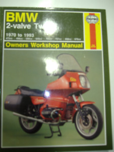 BMW 2 Valve Twins Workshop Manual