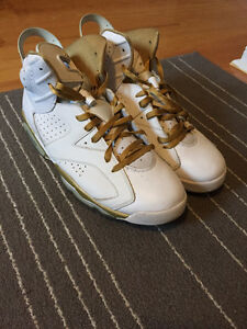 "Air Jordan 6s ""GMP"" (Golden Moments Package)"
