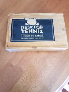 Desktop table tennis brand new