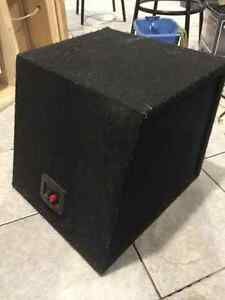 "10"" subwoofer  with box"