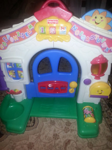 Fisher price laugh and learn house