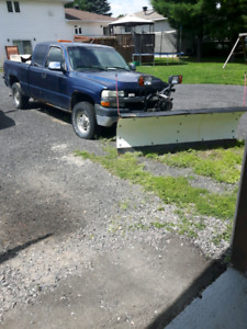 Truck and plow for sale or separate