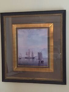 Beautiful classy painting with frame