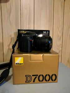 Nikon D7000 + 18-105mm lens
