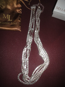 Melanie Lyne Multi Chain Necklace New Reduced