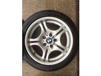 "BMW E46 17"" M Sport Alloys"