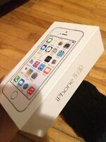 Iphone 5S blanc et gold !