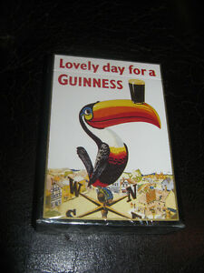 Lovely day for a Guinness playing cards now $4.00