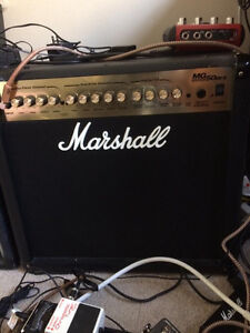 Marshall MG50DFX for a small tube amp