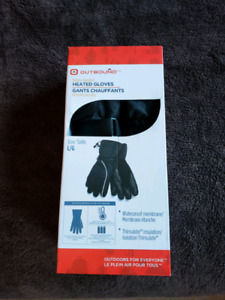 Outbound battery operated heated gloves