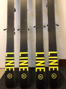 17/18 LINE Skis with bindings Size 164 Size 171