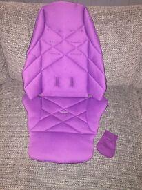 Mamas and Papas pram seat fabric