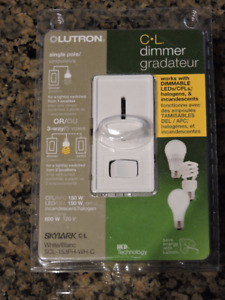 Lutron Dimmer Switches Two New in Package