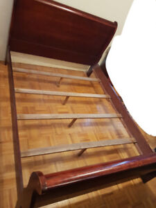Bed Frame + Boards, Dressing Table, Chest of Drawers, Side Table