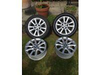 "BMW E46 3 series 16"" Alloy wheels"
