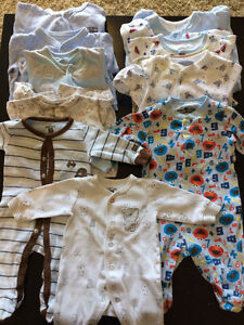 0-3 and 3 month pyjamas