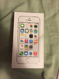 SELLING 16 GB SILVER IPHONE 5S, ROGERS, 9/10 MINT CONDITION $170