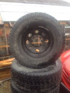 Dodge tires and truck parts +gm parts