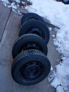 "Toyota Winter tires 15"" Firestones - Prius / others"