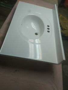 White Vanity 36'' Counter $50