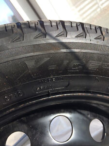 "Michelin X Ice Xi3 Snow Tires and Rims (15"")"