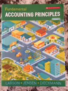 Fundamental Accounting Principles Vol 1     15th edition