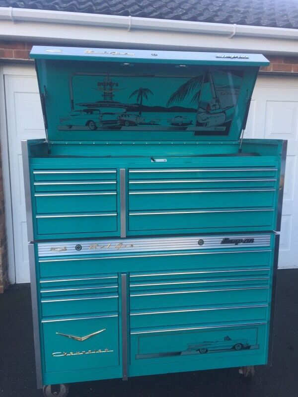 Snap On Krl Teal Tool Box Roll Cab In Pevensey East