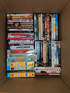 Lot of 110 DVDs