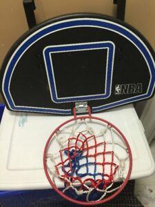 Over-door basketball net