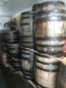 LOOK JUST IN FROM KENTUCKY BOURBON WHISKEY BARRELS. $225 to $235