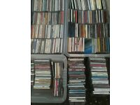 Cd collection. Job lot of CDs. CDs.