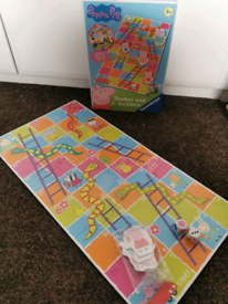Peppa pig snakes and ladders