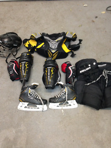 hockey stock complet